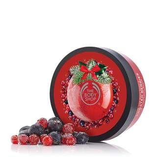 The Body Shop Body Butter with Cranberry Seed Oil