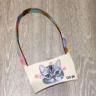 🚚 客製寵物杯袋 單面