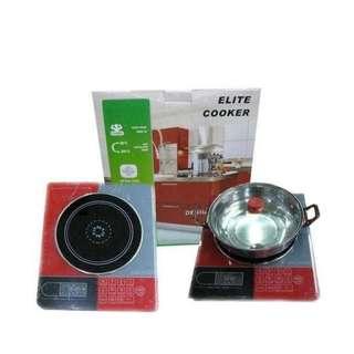 Kompor Listrik Elite Cooker 1 Tungku Termurah Dijakarta Kompor Induksi Low Watt