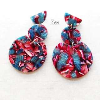 Modern Aztec Earrings