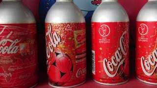 Coca Cola collectible World Cup series