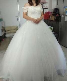 New gaun pengantin sabrina