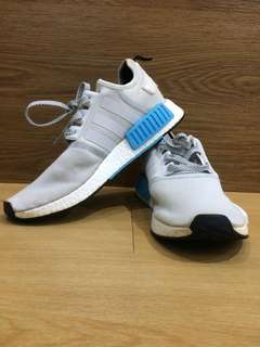 Adidas NMD R1 Runner Nomad White-Bright Cyan