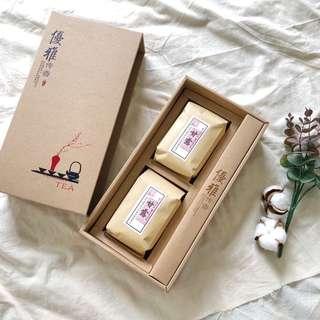 優雅傳香 甘露 茶葉禮盒