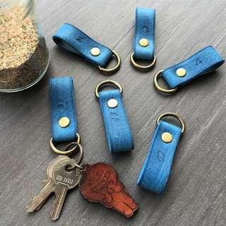 軒窗革藝-手工皮革-鑰匙圈 吊飾 手作 植鞣 鉻鞣 訂製 客製化 文創 文青