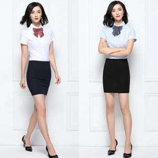 BN🌸Formal Skirt - Black