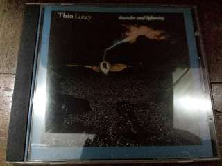 Music CD: Thin Lizzy ‎– Thunder And Lightning