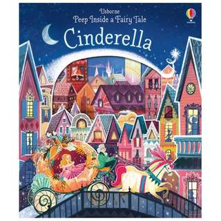 (Brand New) Peep Inside a Fairy Tale Cinderella Peep Inside a Fairy Tale    By: Anna Milbourne, Karl James Mountford (Illustrator) Board Book