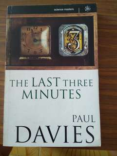 The Last Three Minutes   - Paul Davies