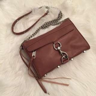 Rebecca Minkoff Tan Mini MAC Bag