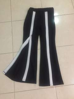 Cutbray stripes pants bangkok