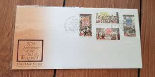 First Day Cover - 50th Anniversary of WW2