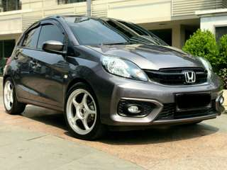 DISKON GILA HONDA NEW BRIO SATYA 1.2 E MT 2018 BRIO MOBILIO JAZZ CRV BRV HRV CIVIC CITY ACCORD ODYSSEY HR-V CR-V BR-V HATCHBACK S E RS MT AT TURBO PRESTIGE CVT 2018