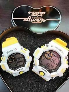 Baby G x G-Shock Couple Wrist Watch