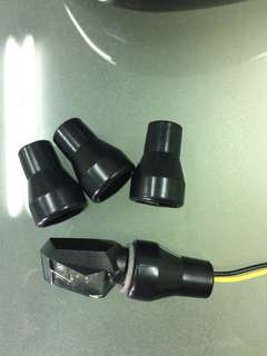 方向燈柄橡膠護套4個ㄧ組