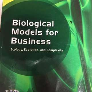 Biological Models for Business