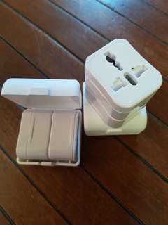 Extremely Light and Compact Universal Adapters. Brand New. Fits In A Box (6 x 5.5 x 4.5 cm)