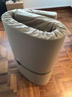 Firm and comfortable floor mattress