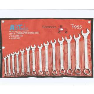 Ab Tool Combination Wrench 8-24mm (14 pcs)