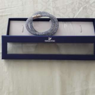 Swarozki Stardust Crystal Silver Bracelet Size S 38cm