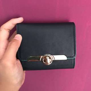 Blue small wallet by Accessorize