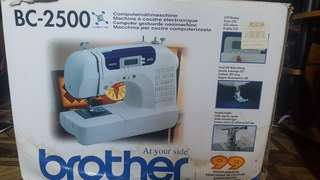 Brother BC-2500 sewing machine