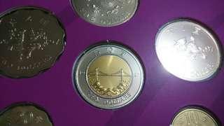 1997香港回歸紀念幣,全新