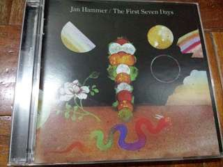 Music CD: Jan Hammer ‎– The First Seven Days - Prog Rock, Fusion