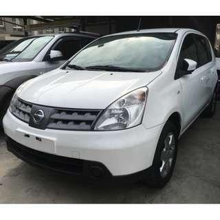 2008年 Nissan 日產 Livina 勒維娜 1.8 /里程少/車況優/內裝新/超便宜