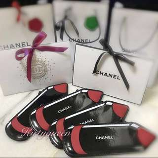 Chanel crayon pouch