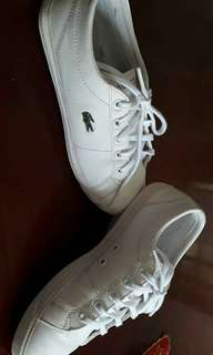 Lacoste White Shoes for Girls (Exact Size is 2 not 4)