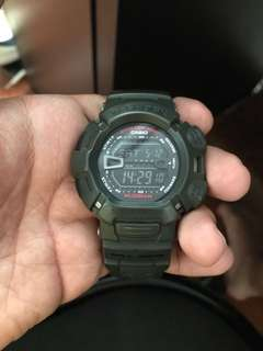 G-shock army green