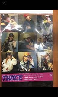 Twice全員poster