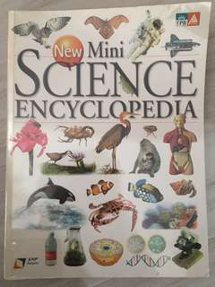 Preloved New Mini Science Encyclopedia