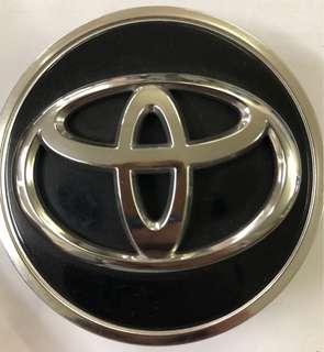 Toyota Black Original Rim Cap