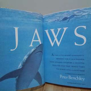 Jaws by Peter Benchley and The Dogs of War by Frederick Forsyth