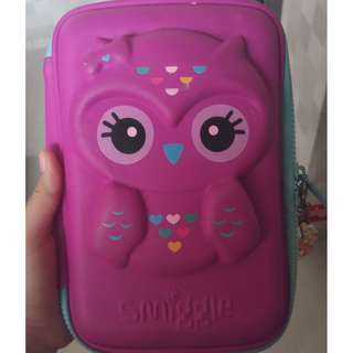 SMIGGLE OWL PENCIL CASE