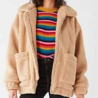 I.AM.GIA Pixie Teddy Coat in SMALL
