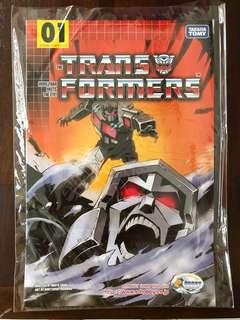 Transformers e hobby comic