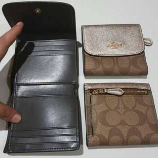 Coach Trifold Small Wallet