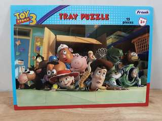 Toy Story 3 tray puzzle