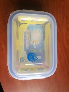 Glass food container 640ml