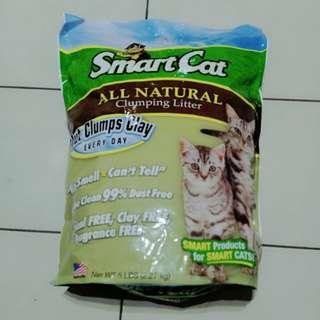 🚚 【sigmanet家庭百貨】全新未拆封~美國SMART CAT聰明貓~高粱植物纖維全天然貓砂5磅2.27KG
