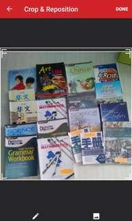 Sec 1-4 express textbooks
