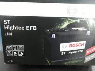 Car-Battery Bosch EFB Battery LN4                                                               Start-Stop Battery                                                                   1 Year Warranty