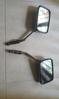 Mirrors for scooter