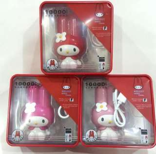 My Melody Portable 10000mAh Powerbank Mobile Charger