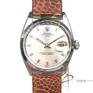 Rolex Oyster Perpetual Date Ref 1500 Automatic Vintage Watch (Year 1968)