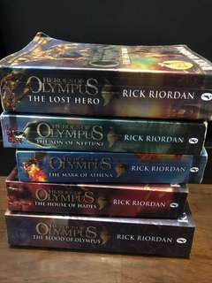 Percy Jackson Series: Heroes Of Olympus