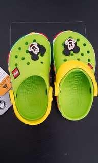 Brand new toddler lego crocs